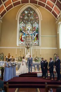 Church Of The Immaculate Conception Termonfeckin image of wedding photographs Westcourt Hotel Drogheda Louth Ireland irish photographer Deryck Tormey